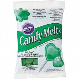 Candy Melts. color Verde Oscuro