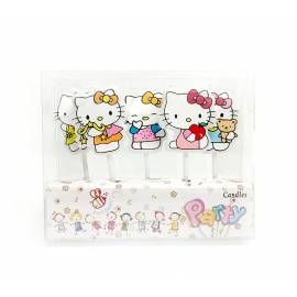 Velas HELLO KITTY 5und