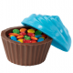 Wilton Molde para Candy Melts, Cupcake