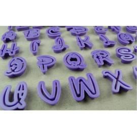 Moldes letras y números Disney