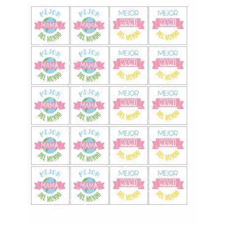 Galletas - Día De La Madre - Impresiones en papel comestible