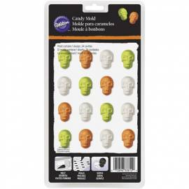 Wilton Molde para Candy Melts - Mini Calaveras