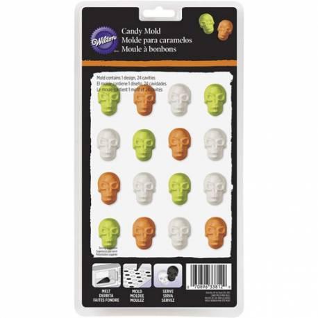 Wilton Molde para Candy Melts - Mini Calaveras