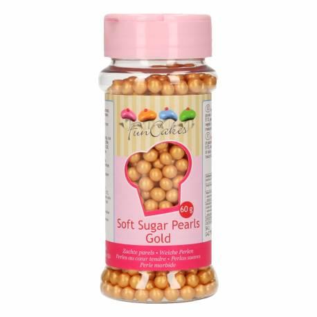 FunCakes Perlas Suaves Oro 60g