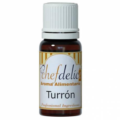 Aroma Concentrado Chefdelice Turrón . 10 ml