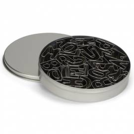 Cortadores de Letras De Metal - Set de 26 piezas