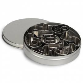 Cortadores de Números De Metal - Set de 9 piezas