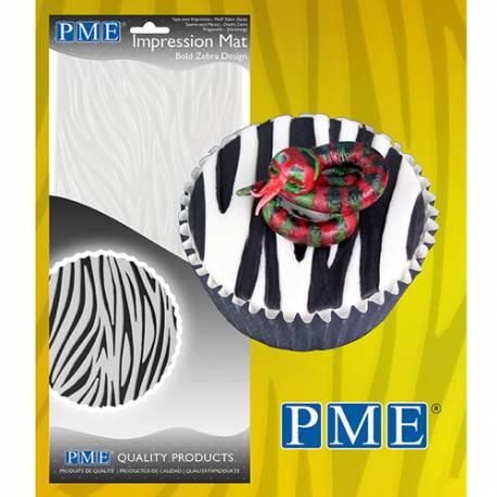 Lámina texturizadora Diseño Cebra PME