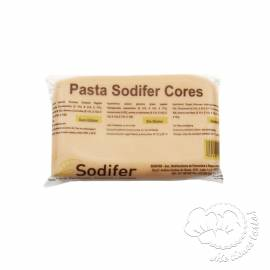 FONDANT SODIFER COLOR CARNE 400GR