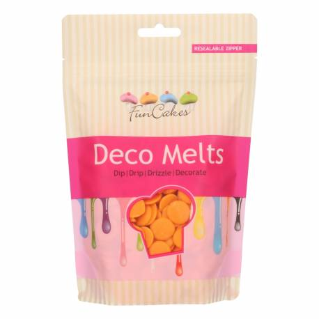 FunCakes Deco Melts - Naranja - 250g