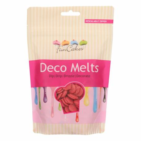 FunCakes Deco Melts - Rojo - 250g