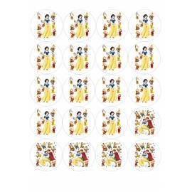 Blancanieves - Impresiones en papel comestible