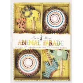 Kit cupcakes Animales. 24 uds