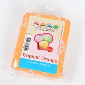 Fondant Funcakes Naranja 250 gr