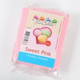 Fondant Funcakes Rosa 250 gr