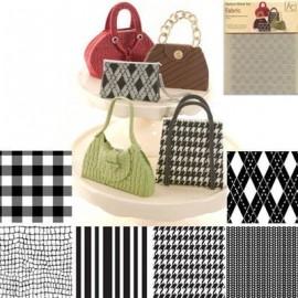 Láminas texturizadoras. Diseños textiles