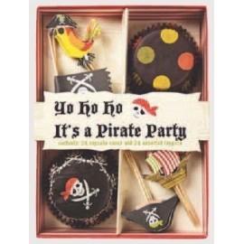 Kit cupcakes Piratas. 24 uds
