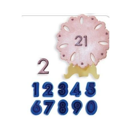 Moldes Números