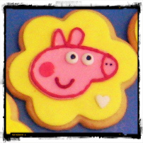 Galletas de Peppa Pig