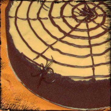 Tarta de Arañas para Halloween