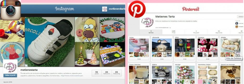 Pantallazo Instagram-Pinterest
