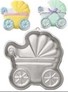 Molde cochecito de bebe -Metienestarta