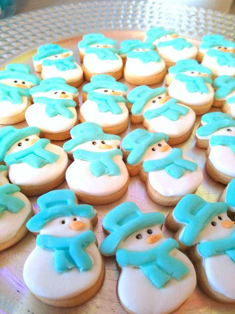 galletas muñecos de nieve - www.metienestarta.com